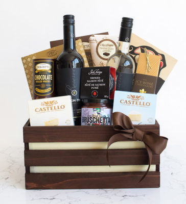 wine and cheese gifts delivered