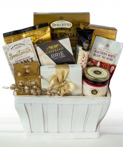winter gift basket in Vancouver