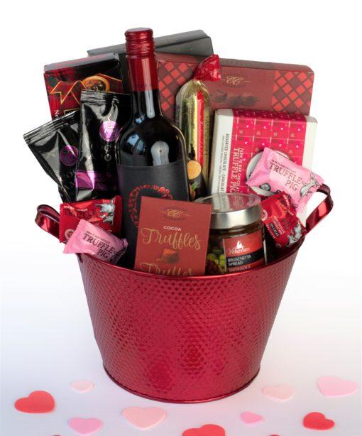 Be mine with chocolates