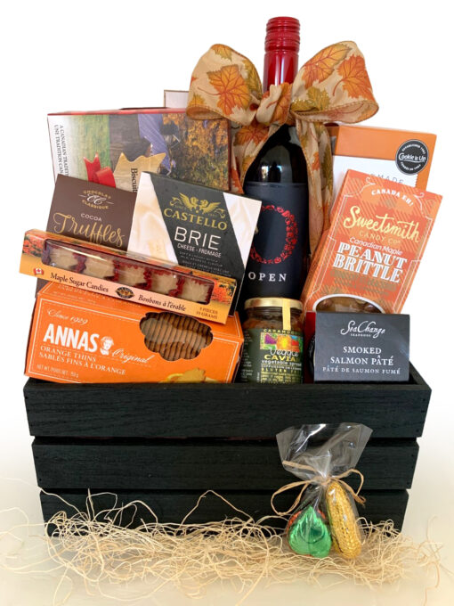 Autumn Gift Basket Vancouver
