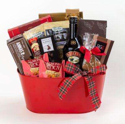 baileys and coffee gift basket