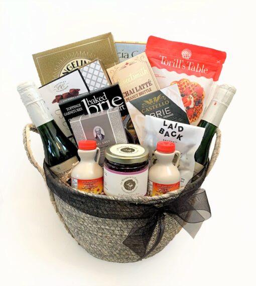 brunch gift basket